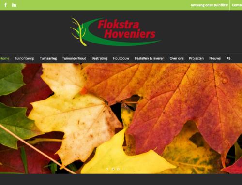 Lancering nieuwe website Flokstrahoveniers.nl en restyling huisstijl